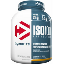 Dymatize Nutrition ISO 100 Hydrolyzed Whey Protein Isolate Cinnamon Bun