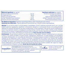 Pure Encapsulations Metabolic Xtra  90 capsules | Supplements Facts