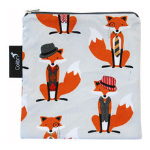 Colibri Reusable Snack Bag Foxes | 855562000377
