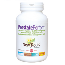 New Roots Herbal Prostate Perform - Daytime and Nighttime 60 Softgels | 628747108904