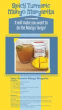 Spicy Turmeric Mango Margarita Recipe