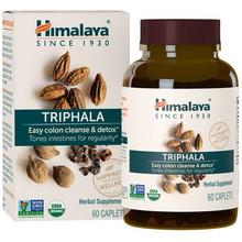 Himalaya Herbal Healthcare Organic Triphala 60 caplets | 605069404013