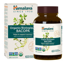 Himalaya Herbal Healthcare Bacopa 60 caplets | 605069403016