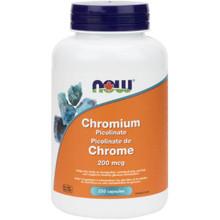 Now Foods Chromium Picolinate 200mcg 250caps | 733739814227