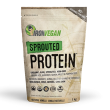 Iron Vegan Sprouted Protein Natural Vanilla 1 kg | 837229006588