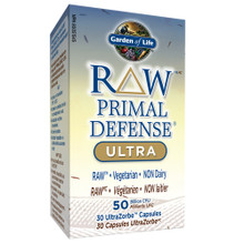 Garden of Life RAW Primal Defense Ultra 50 Billion CFU 30 Caps | 658010115735