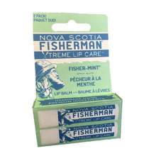 Nova Scotia Fisherman Xtreme Lip Care Fisher-Mint Lip Balm 2 x 5.2g | 883161850038
