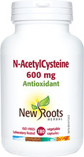 New Roots Herbal N-AcetylCysteine 500mg 180 Vcaps | 628747103022