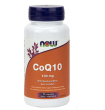 Now Foods CoQ10 with Hawthorne Berry 100mg 90caps| 733739832122