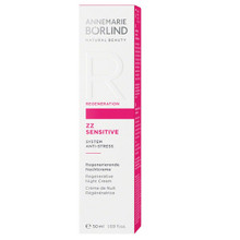 Annemarie Borlind ZZ Sensitive Fortifying Night Cream | 4011061008689