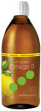 NutraSea Omega-3 EPA & DHA 1250mg Liquid Zesty Lemon 500 ml | 850652000046