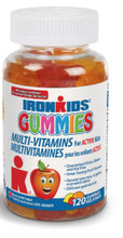 Ironkids Gummies Multi-Vitamins 120 Gummies | 683702120063
