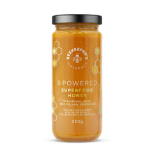 Beekeeper's Naturals B. Powered Superfood Honey with Royal Jelly, Bee Pollen, Propolis 330g | 628055142034