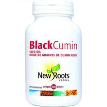 New Roots Herbal Black Cumin Seed Oil 500 mg softgels | 628747109451