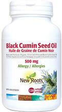 New Roots Herbal Black Cumin Seed Oil 500 mg 120 softgels | 628747109451