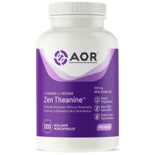 AOR Zen Theanine 225mg 120 capsules | 624917043419