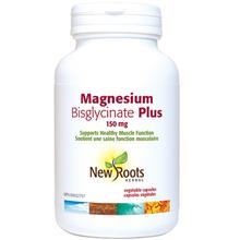 New Roots Herbal Magnesium Bisglycinate Plus 150mg | 628747122023 | 628747113908