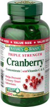 Nature's Bounty Triple Strength Cranberry Concentrate with Vitamin C and E | 029537137935