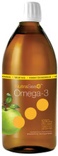 NutraSea+D Omega-3 + Vitamin D EPA & DHA 1250mg Liquid Apple 500ml | 880860004321