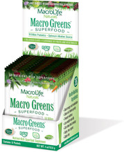 MacroLife Naturals Macro Greens Superfood 12 x 9.4 g packets | 852434001128