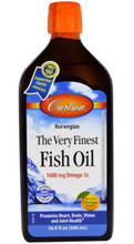 Carlson Norwegian Very Finest Fish Oil