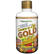 Nature's Plus Source of Life Gold Liquid Tropical Fruit 900ml | 097467307018