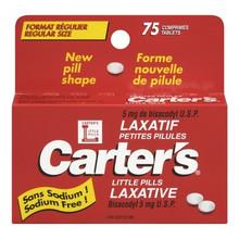 Carter's Little Pills 75 Tablets | 061700030759