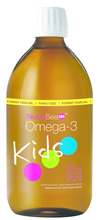 NutraSea Kids Omega-3 Bubble Gum Flavour Liquid 500 ml | 880860005618