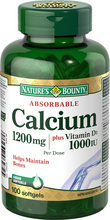 Nature's Bounty Absorbable Calcium plus Vitamin D3 | 029537062725