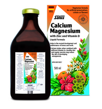 Flora Salus Haus Calcium Magnesium with Zinc and Vitamin D Liquid Formula 500ml | 4004148047701