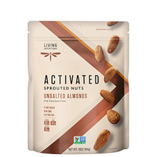 Living Intentions Activated Sprouted Nuts Unsalted Almonds 454 grams | 853037004462