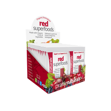 Prairie Naturals Organic Red Superfoods Powder 30 x 7g Packets | 067953100454