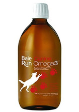 Baie Run Canine Omega3 EPA & DHA 1170mg Liquid Smoky Meat Flavour 500ml | 628250036022