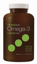 NutraSea Omega-3 LiquidGels (EPA+DHA 1250mg) 150 soft gels | 880860004079