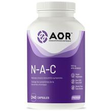 AOR N-A-C 500mg - 240 Veg capsules | 624917044287