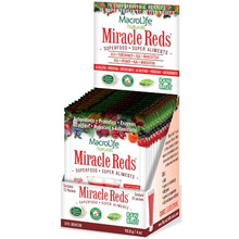 MacroLife Naturals Miracle Reds Superfood 12 x 9.4 g packets | 852434001135