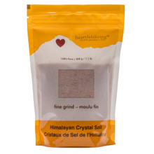 Heartfelt Living Himalayan Crystal Salt Fine Grind 500 grams | 805649000073