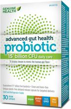 Genuine Health Advanced Gut Health Probiotic 15 Billion CFU 30 Vegan Capsules | 624777008719