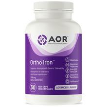 AOR Ortho Iron 358 mg 30 Veg Capsules | 624917041576