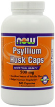 Now Foods Psyllium Husk 500mg 500 Caps | 733739859723
