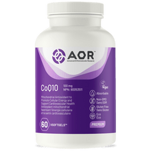 AOR-CoQ10-100mg -60-Veg Softgels | 624917740028