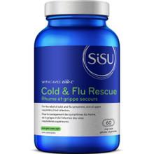 Sisu Ester-C Cold & Flu Rescue  60 Veg Caps | 777672011343 | SIS-1047-0001