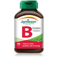 Jamieson B Complex with Vitamin C 100 Caplets | 064642020154