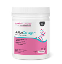 Smart Solutions Lorna Vanderhaeghe Active Collagen Powder - Marine Collagen Peptides Unflavoured 104g | 871776008121