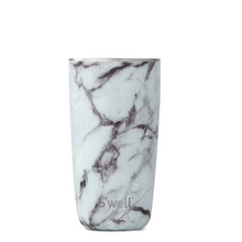 S'well Bottle Tumbler Collection Stainless Steel Insulated Cup White Marble | 814666027451
