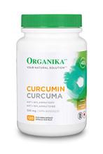 Organika Curcumin 500mg Anti-Inflammatory 120 VCAPS | 620365011253
