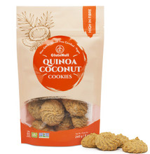 Glutenull Quinoa Coconut Cookie 240 grams | 628451529354
