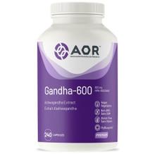AOR Gandha-600 240 veg-caps| 624917044331