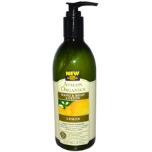 Avalon Organics Hand and Body Lotion Lemon, | 654749352052
