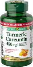 Nature's Bounty Turmeric Curcumin 450 mg | 029537559515